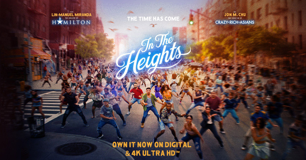 IN THE HEIGHTS | See it in Theaters and on HBOMAX™ Lights Up June 10.